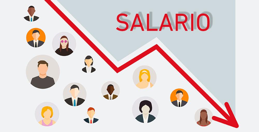 devaluación salarial