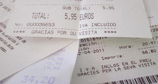 tiques como factura